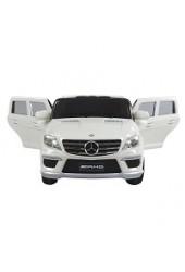 Accu-auto Mercedes-Benz ML63 wit met afstandsbediening